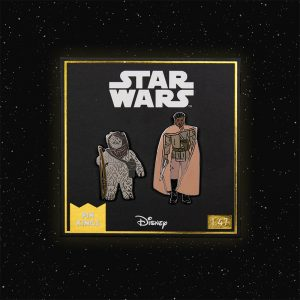 Pin Kings Star Wars Enamel Pin Badge Set 1.47 – Warok and Lando Calrissian (General Pilot)