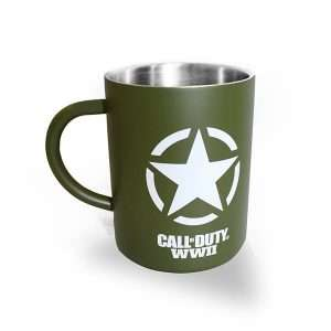 Call of Duty WW2 Freedom Star Steel Mug