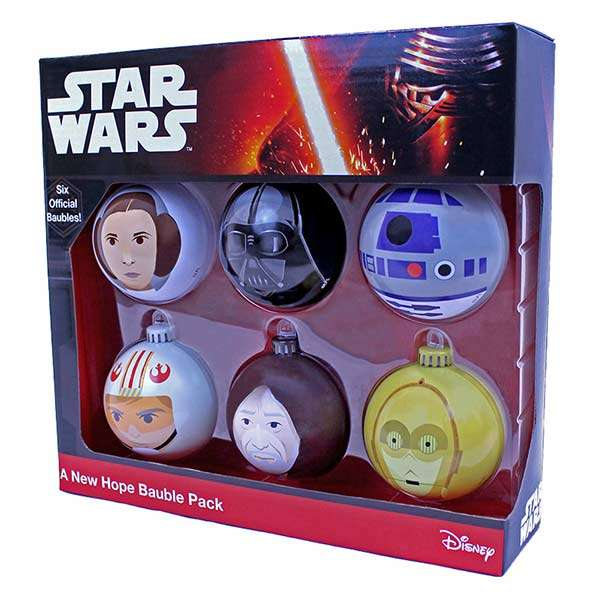 A New Hope Bauble / Christmas Tree Ornament Pack