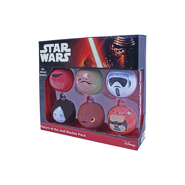 Return of the Jedi Bauble / Christmas Tree Ornament Pack
