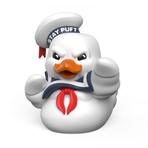 Ghostbusters Stay Puft TUBBZ Cosplaying Duck Collectible – Marshmallow Scented