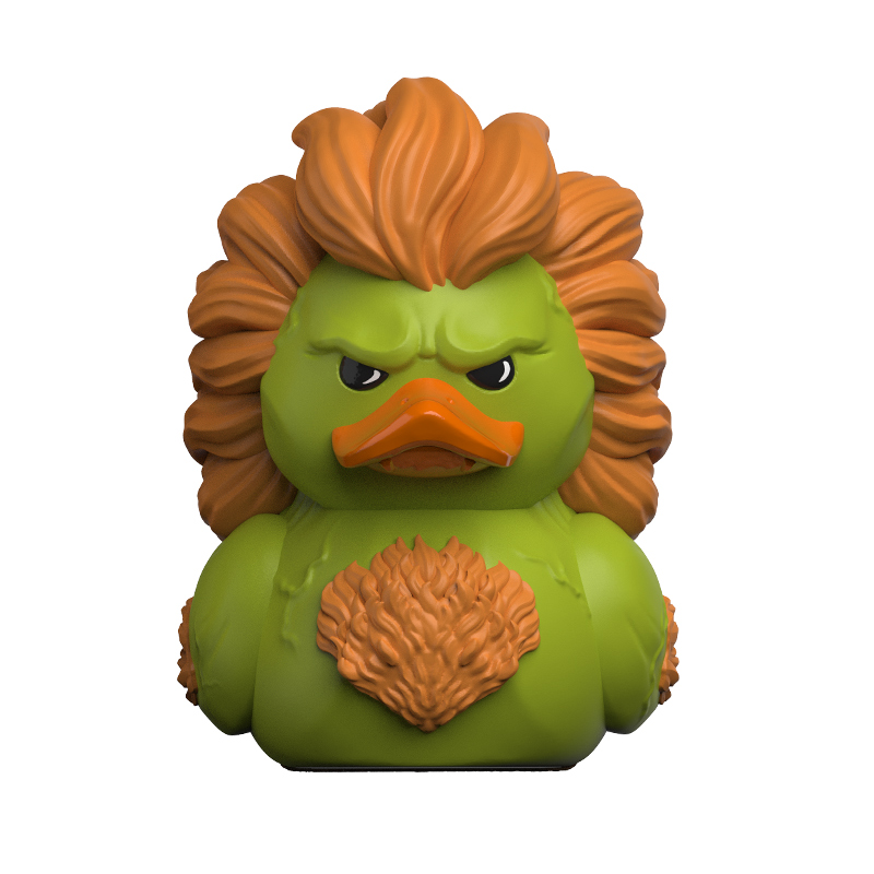 Street Fighter Blanka TUBBZ Cosplaying Duck Collectible