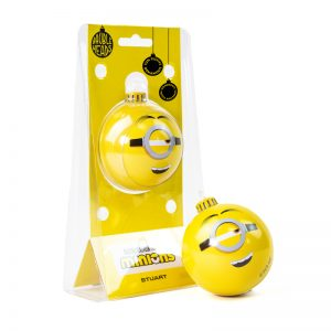 Bauble Heads Minions 'Stuart' Christmas Decoration / Ornament