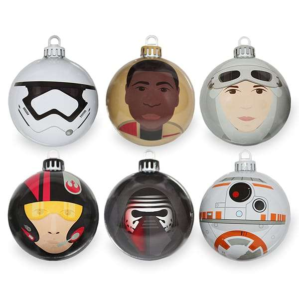 The Force Awakens Bauble / Christmas Tree Ornament Pack