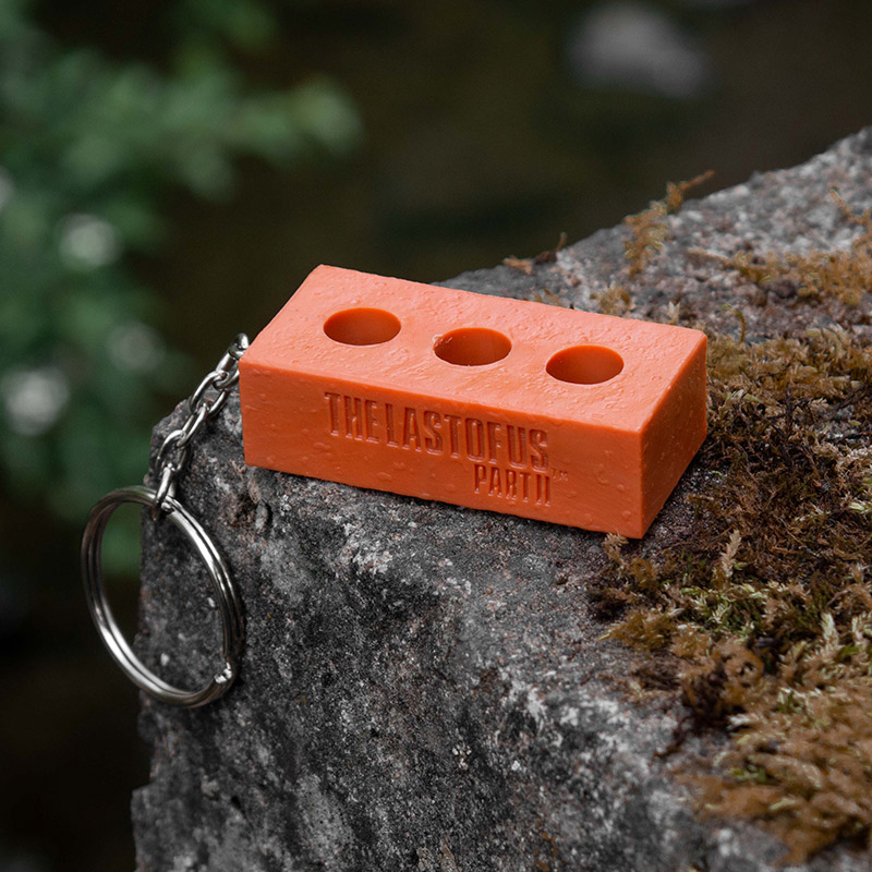 The Last of Us Part II 3D Brick Keyring / Keychain