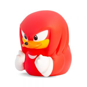 Sonic The Hedgehog Knuckles  TUBBZ Cosplaying Duck Collectible