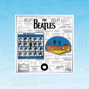 Pin Kings The Beatles Enamel Pin Badge Set 1.1
