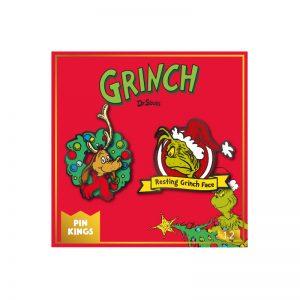 Pin Kings The Grinch Enamel Pin Badge Set 1.2