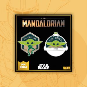 Pin Kings Star Wars The Mandalorian Enamel Pin Badge Set 1.1