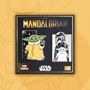 Pin Kings Star Wars The Mandalorian Enamel Pin Badge Set 1.2
