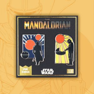 Pin Kings Star Wars The Mandalorian Enamel Pin Badge Set 1.3
