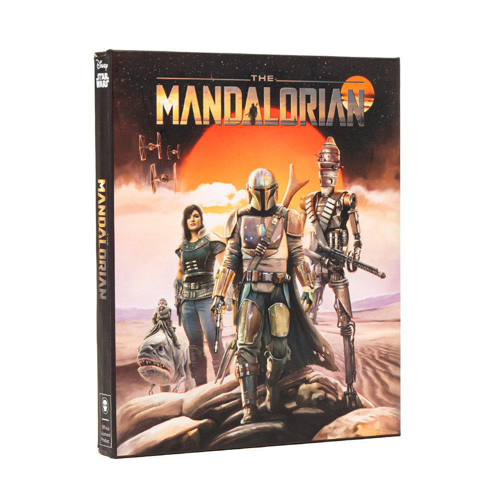 Official Star Wars 'The Mandalorian' Pin Badge Set