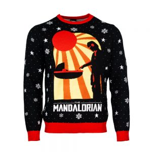 Official Star Wars The Mandalorian Christmas Jumper / Ugly Sweater