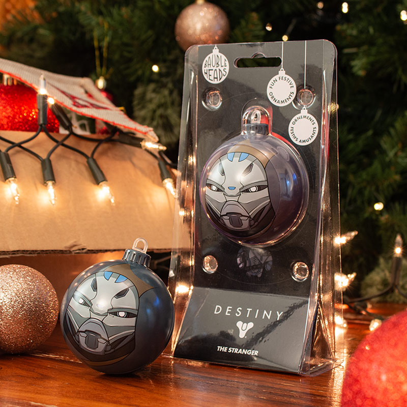 Bauble Heads Destiny 'The Stranger' Christmas Decoration / Ornament