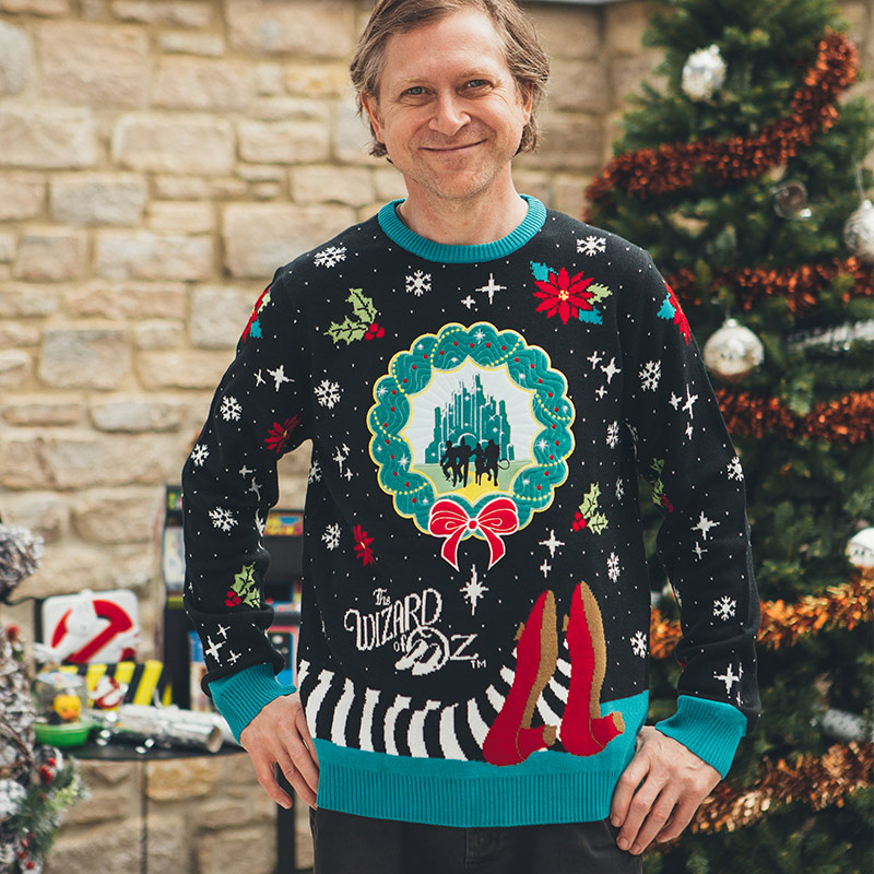 Official The Wizard of Oz Christmas Jumper / Ugly Sweater