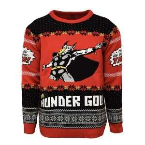 Thor 'The God of thunder, THOR!' Christmas Jumper / Ugly Sweater