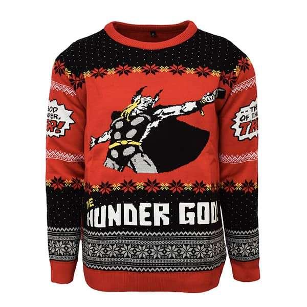 Thor 'The God of thunder, THOR!' Christmas Jumper / Sweater