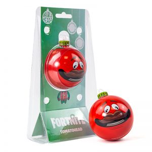 Bauble Heads Fortnite 'Tomatohead' Christmas Decoration / Ornament