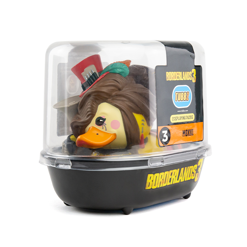 Borderlands 3 Moxxi TUBBZ Cosplaying Duck Collectible