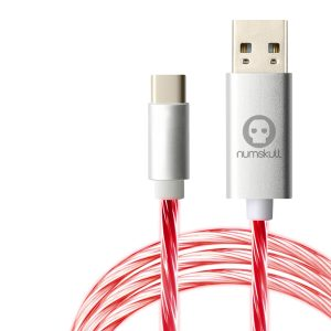 Numskull Nintendo Switch LED Flow USB C Cable