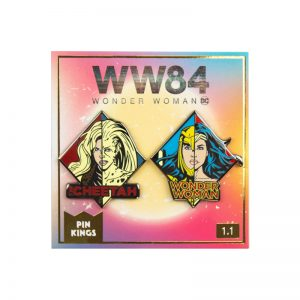 Pin Kings Wonder Woman '84  Enamel Pin Badge Set 1.1 – WW & Cheetah