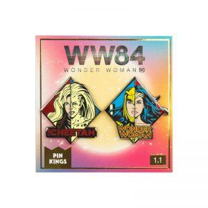 Pin Kings Wonder Woman '84  Enamel Pin Badge Set 1.1 – WW & Cheetah