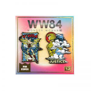 Pin Kings Wonder Woman '84  Enamel Pin Badge Set 1.2 – Fight For Justice