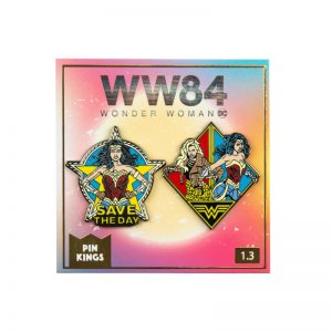 Pin Kings Wonder Woman '84  Enamel Pin Badge Set 1.3 – Save The Day