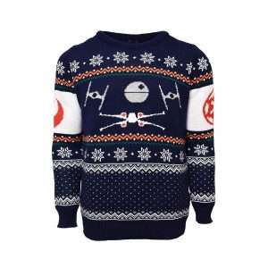Star Wars Tie Fighter Vs. X-Wing Christmas Jumper / Ugly Sweater