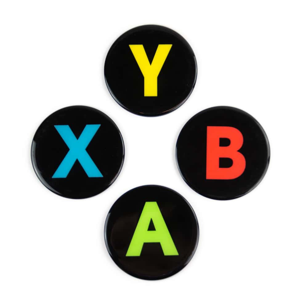 Xbox Controller Button Coasters 4 Pack Numskull