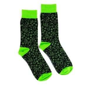Xbox Pattern Socks