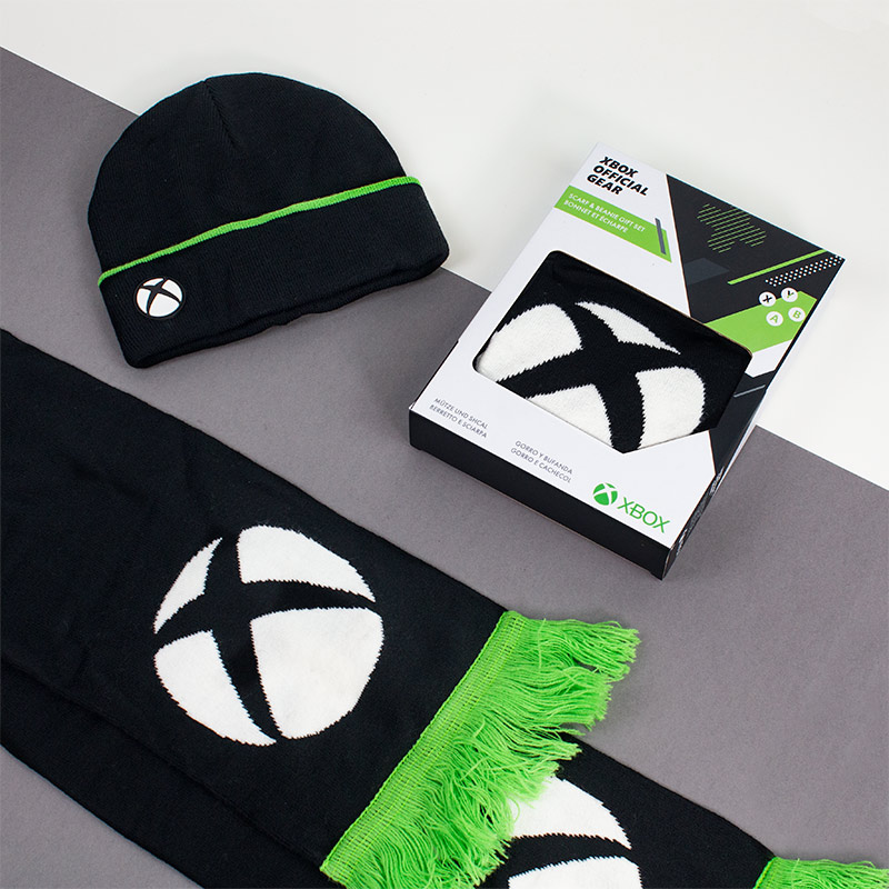 Official Xbox Gift Set – Beanie / Scarf