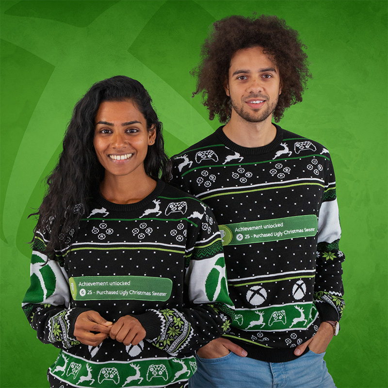 Xbox Achievement Christmas Jumper / Ugly Sweater