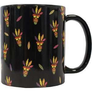Crash Bandicoot Aku Aku Pattern Mug