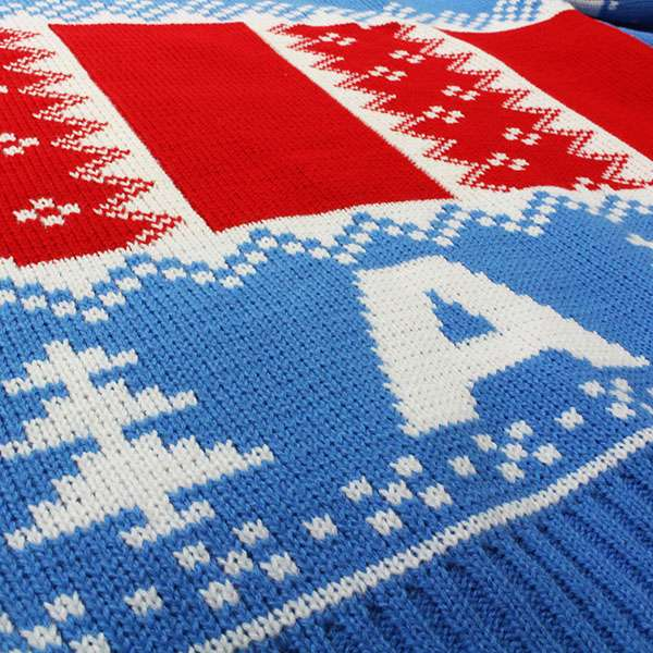 Captain America Christmas Jumper / Ugly Sweater