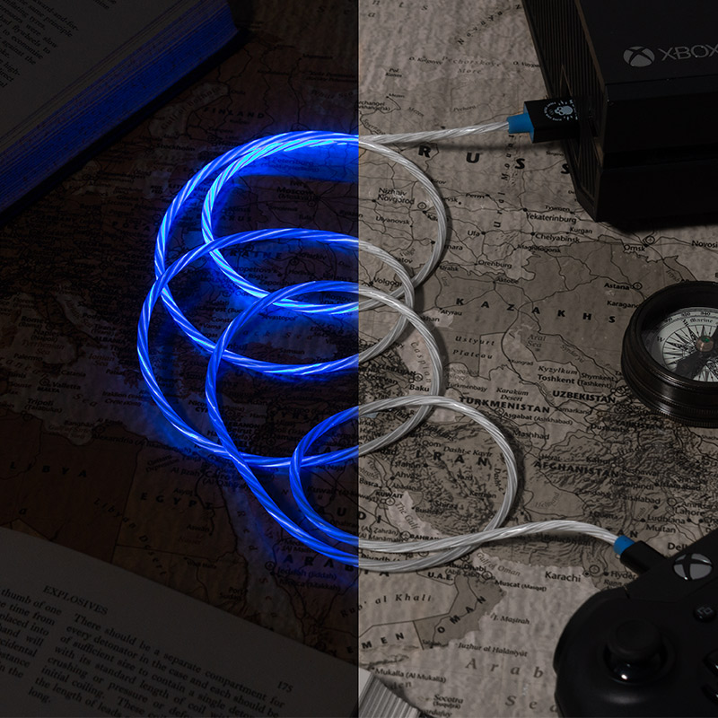 Official Call Of Duty Warzone LED Light Micro-USB Cable (PS4 and Xbox One)