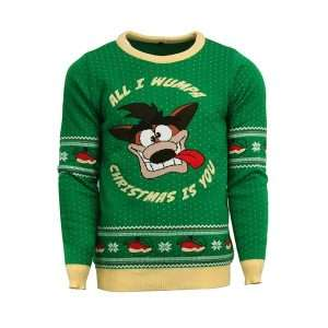 Crash Bandicoot Christmas Jumper / Ugly Sweater