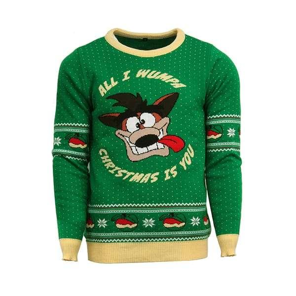 Crash Bandicoot Christmas Jumper / Sweater