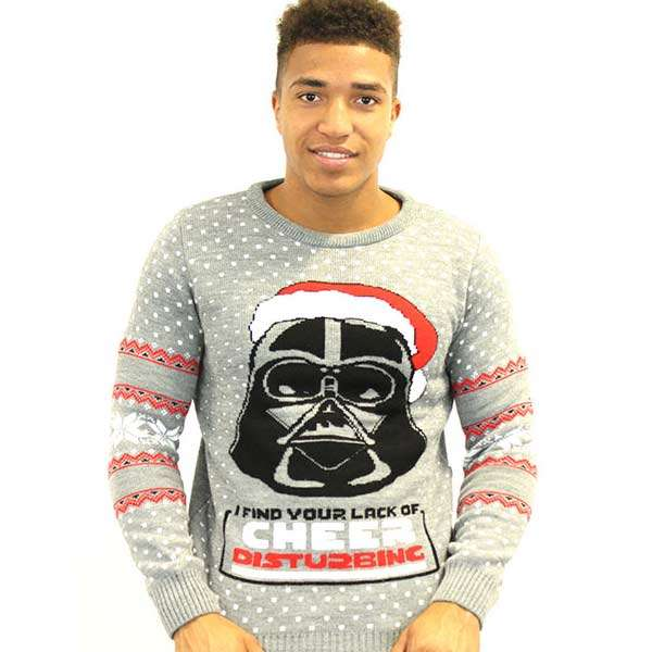 Darth Vader Christmas Jumper / Sweater