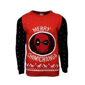 Deadpool Merry Chimichanga Jumper / Ugly Sweater