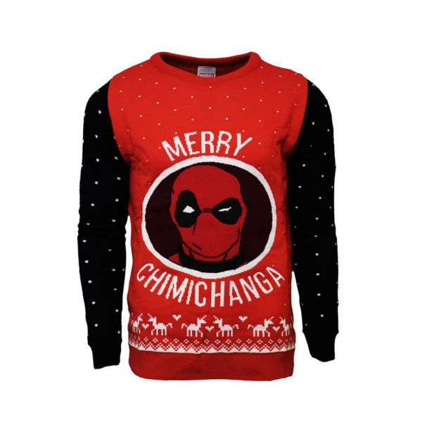 Deadpool Merry Chimichanga Jumper / Sweater