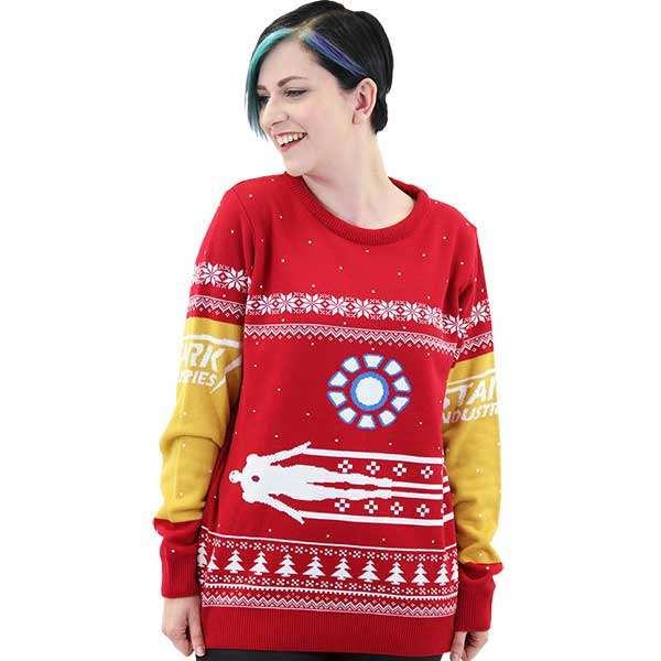 Iron Man Christmas Jumper / Sweater
