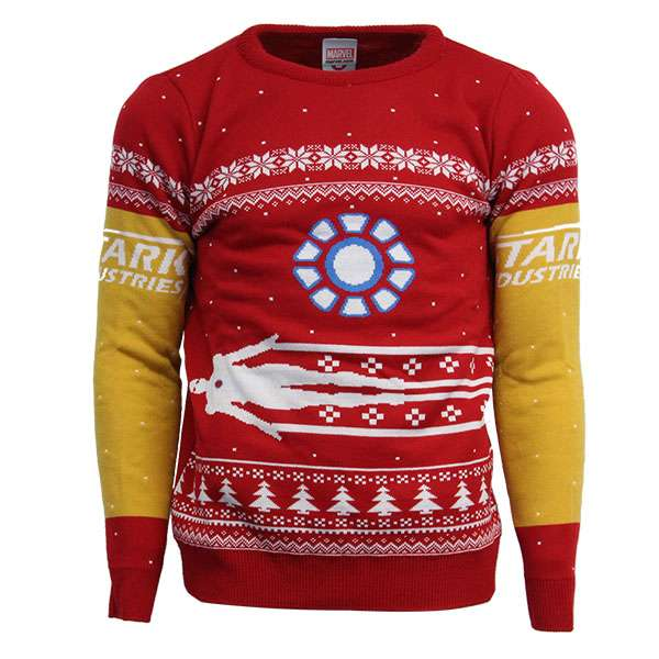 Iron Man Christmas Jumper / Sweater