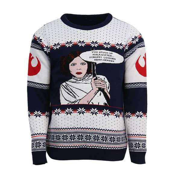 Princess Leia Christmas Jumper / Sweater