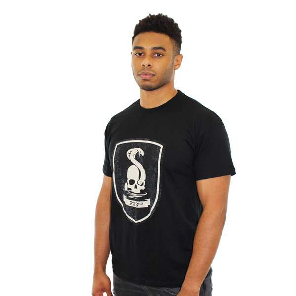 Mafia III 223rd Infantry Black T-Shirt