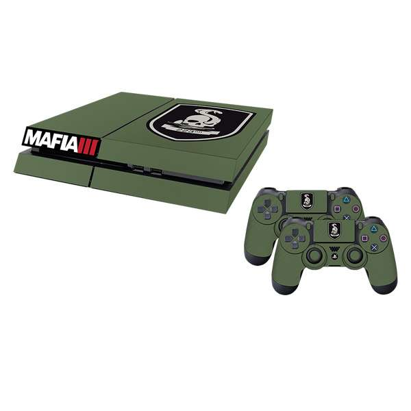 Mafia III 223rd Infantry PS4 Console Skin