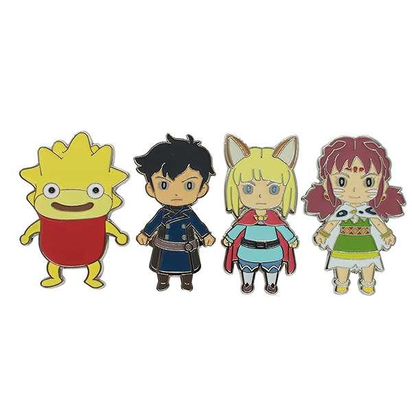 Ni no Kuni 2 Character Magnet Set
