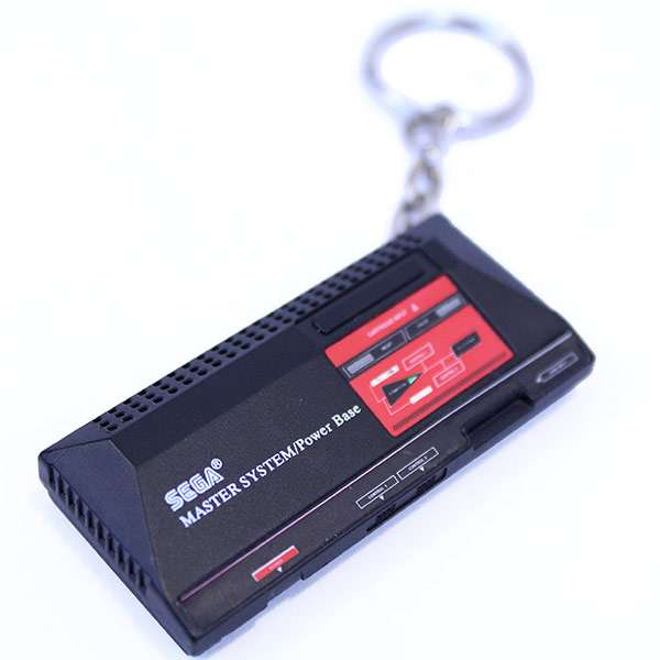 Master System Console KeyChain