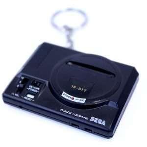Mega Drive Console Keyring / Keychain