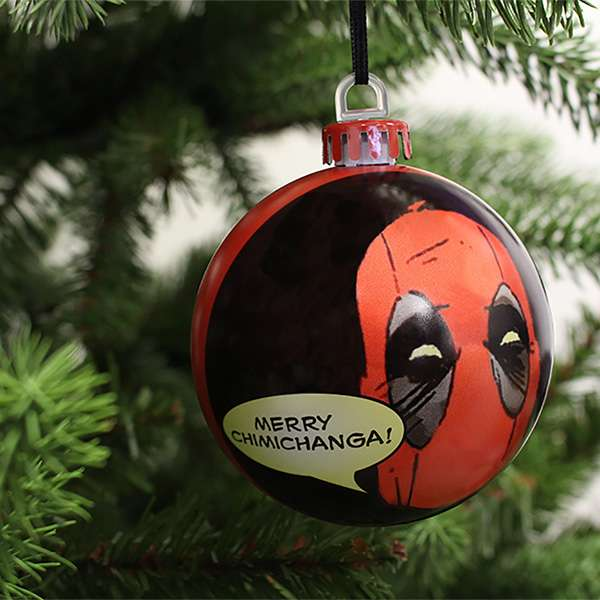 Deadpool Christmas Decorations / Ornaments